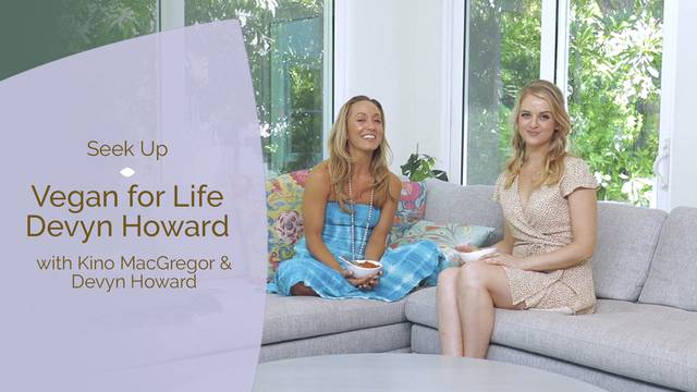 thumbnail image for Vegan for Life with Devyn Howard and Kino MacGregor