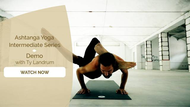 thumbnail image for Inspiration with Ty Landrum: Ashtanga Intermediate Series