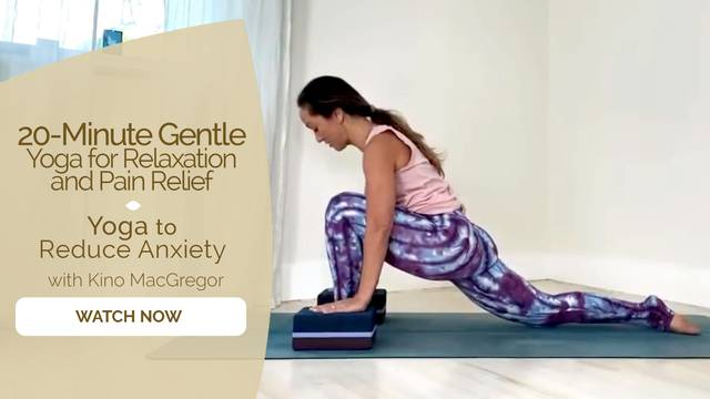 thumbnail image for Yoga for Reducing Anxiety