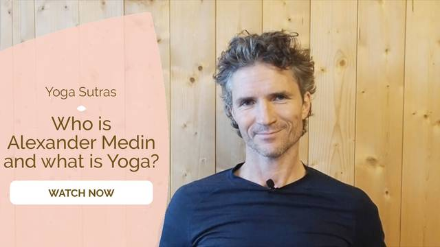 thumbnail image for Who is Alexander Medin and What is Yoga / Trailer