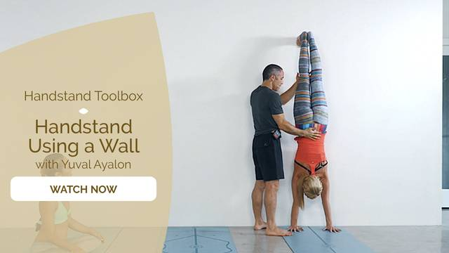 thumbnail image for Handstand Using a Wall