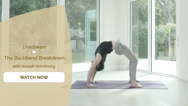 thumbnail image for The Backbend Breakdown with Joseph Armstrong