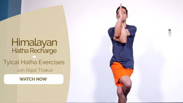 thumbnail image for Tyical Hatha Exercises