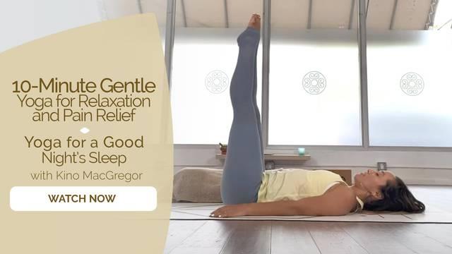 thumbnail image for Yoga for a Good Night's Sleep