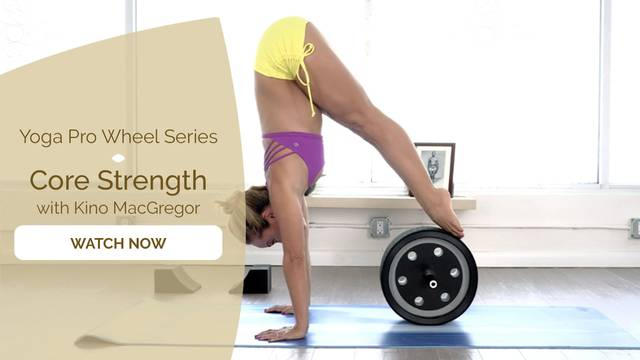 thumbnail image for Yoga Pro Wheel with Kino: Core Strength