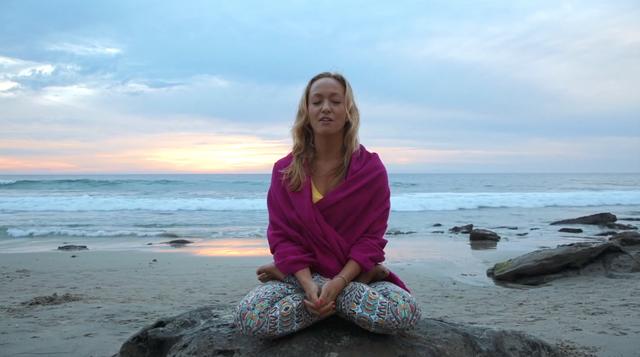 thumbnail image for Sunset Lotus Meditation