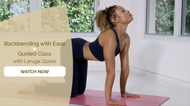 thumbnail image for Back Bending With Ease Guided Class