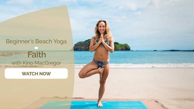 thumbnail image for Beginner's Beach Yoga - Faith