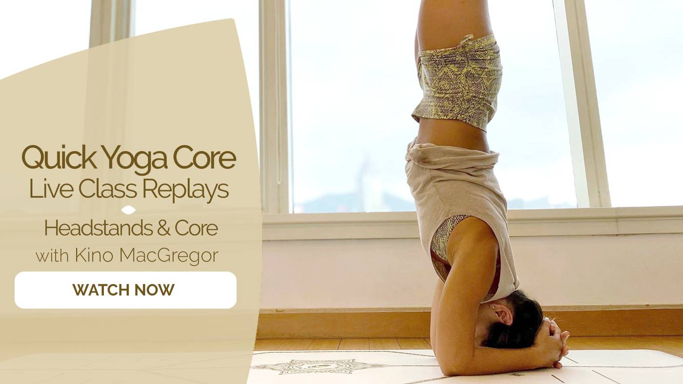 Quick Yoga Core   Practice Courses on Omstars