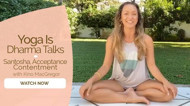 thumbnail image for Santosha, Acceptance, Contentment