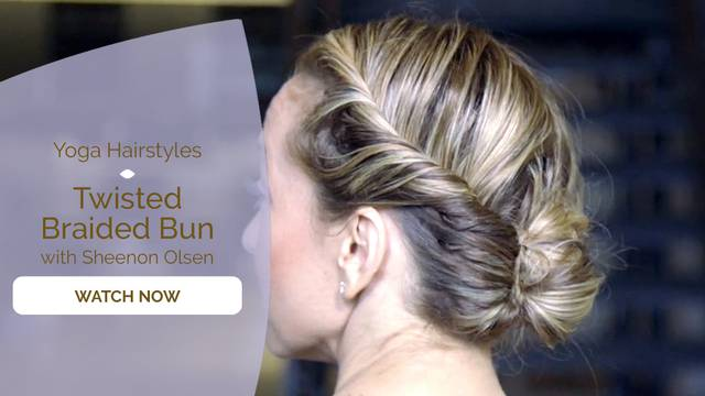 thumbnail image for Twisted Braided Bun
