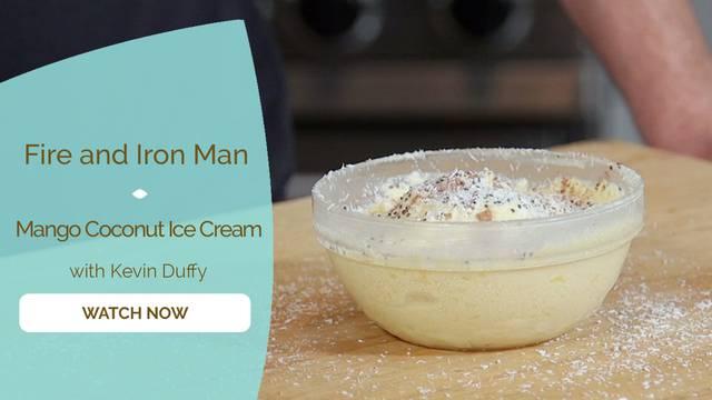 thumbnail image for Mango Coconut Ice Cream
