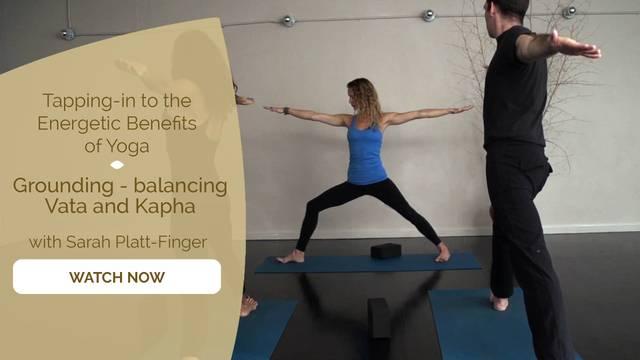 thumbnail image for Grounding - Balancing Vata and Kapha