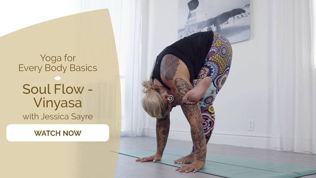 thumbnail image for Day 9 Flow: Soul Flow Vinyasa with Jessica Sayre