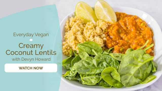 thumbnail image for Creamy Coconut Lentils