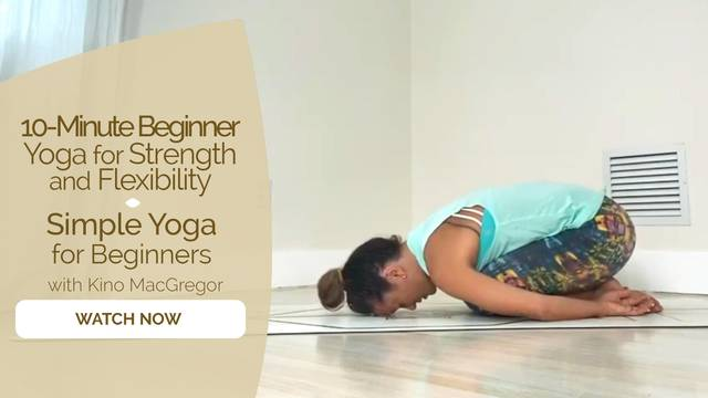 thumbnail image for Simple Yoga for Beginners