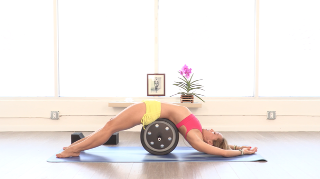 thumbnail image for Yoga Pro Wheel with Kino: Core Strength & Relaxation