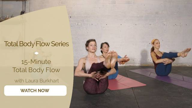 thumbnail image for 15 Minute Total Body Flow
