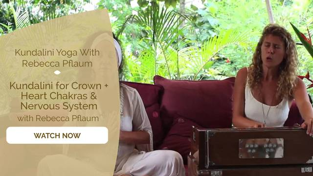 thumbnail image for Kundalini for Crown + Heart Chakras & Nervous System