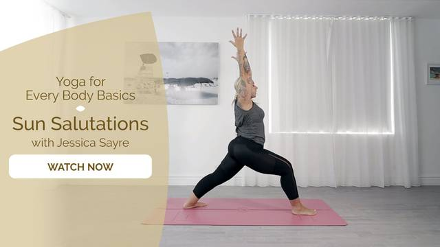 thumbnail image for Sun Salutations with Jessica Sayre