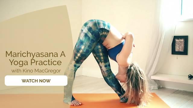 thumbnail image for Marichyasana A Yoga Practice