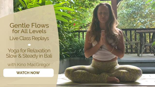 thumbnail image for Yoga for Relaxation — Slow and Steady in Bali