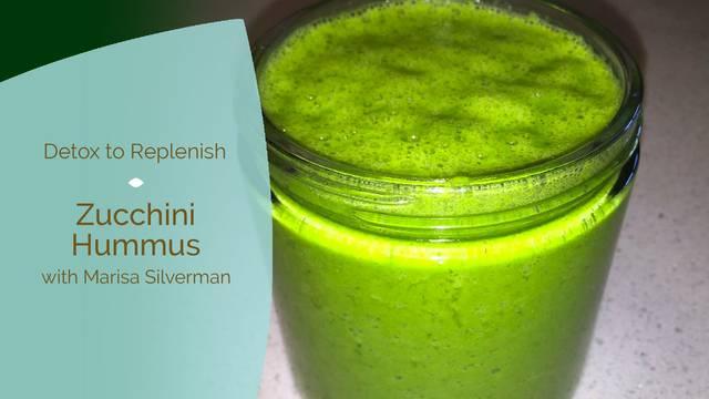 thumbnail image for Zucchini Hummus