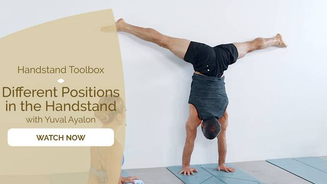 thumbnail image for Different Positions in the Handstand