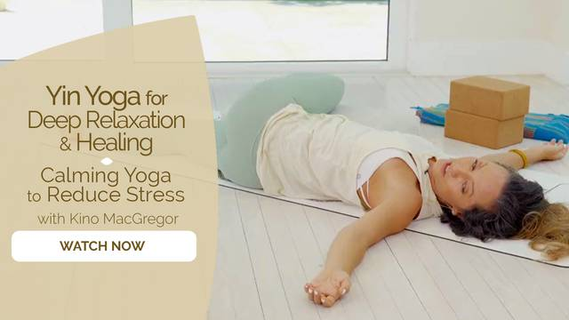 thumbnail image for Calming Yoga to Reduce Stress