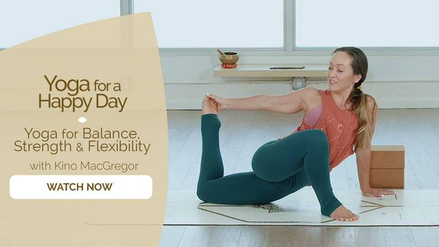 thumbnail image for Yoga for Balance, Strength and Flexibility