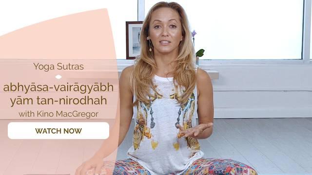 thumbnail image for I.12 abhyāsa-vairāgyābhyām tan-nirodhah