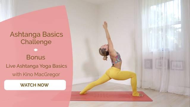 thumbnail image for Bonus 1 - Live Ashtanga Yoga Basics