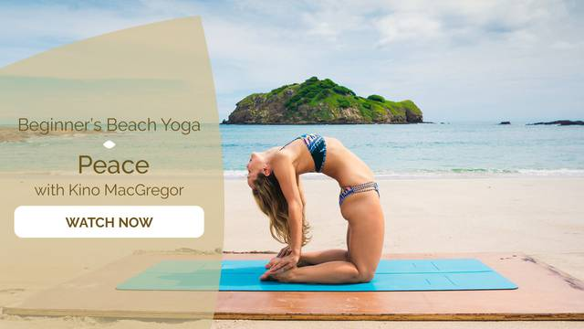 thumbnail image for Beginner's Beach Yoga - Peace