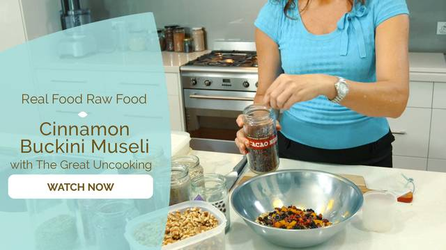 thumbnail image for Cinnamon Buckini Muesli
