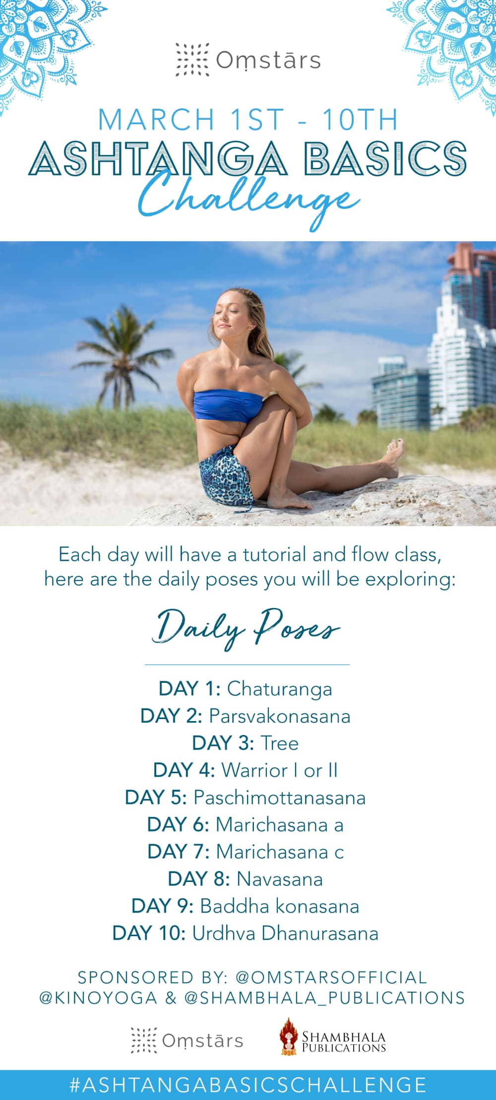 Screenshot of The Ashtanga Basics Challenge