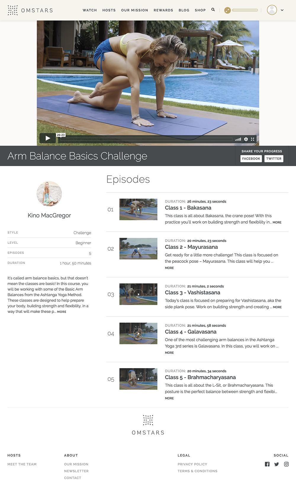 Screenshot of #ArmUpForAnimals Challenge